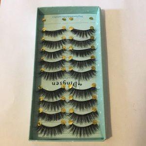 Makeup - 9 pack of false/fake eyelashes